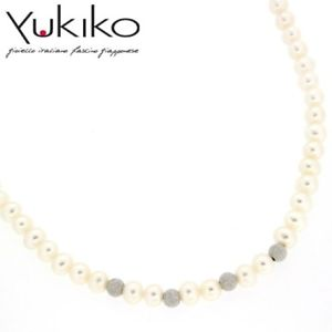 【送料無料】ネックレス ディパールcollana di perle yukiko pcl1836y