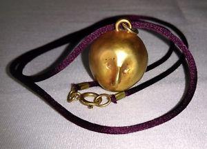 【送料無料】ネックレス ブロンズアーティストペンダントネックレスbijoux dartistes collier pendentif anthropomorphe en bronze dor non sign