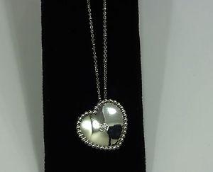 【送料無料】ネックレス アルジェントクオーレcomete girocollo collana argento 925 cuore brillanti gla 110