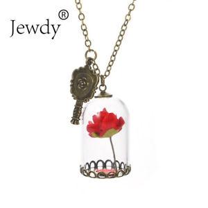 【送料無料】ネックレス ビンテージピンクネックレスフラワーペンダントネックレスas fr24002 la belle et bete rose vintage collier fleur colliers pendentif en ve