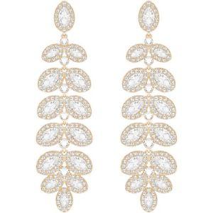 【送料無料】ネックレス スワロフスキーバロンロサドナイヤリングorecchini swarovski baron pendenti oro rosa donna 5350617 earrings eleganti