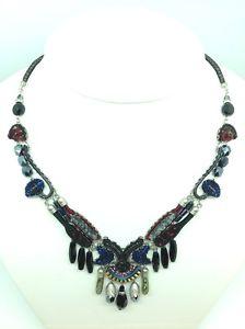 ネックレス アヤラバークランプayala bar collier nighthawk collier, neuf, unikat 9653