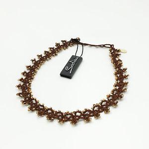 【送料無料】ネックレス アートドーナsodini  art 861040d collana in pizzo bronzo  donna