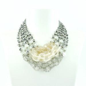 argento e rosa multifilo donna collana  750414k 【送料無料】ネックレス アルジェントローザドーナsodini