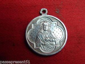 【送料無料】ネックレス メダルレジーナjolie ancienne mdaille, regina sacri scapularis, sacr coeur