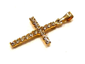 【送料無料】ネックレス クロスbijou alliage dor jolie petite croix dtails strass pendant