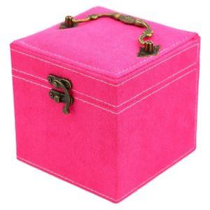 【送料無料】ネックレス ×マルチカラーボックスボックスカレ2xmulti couleurs boite a bijoux cret a bijoux carre en finette de haui5z5