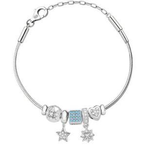 【送料無料】ネックレス アルジェントスワロフスキービーズbracciale donna morellato solomia safz173 argento 925 charms swarovski beads