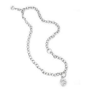 【送料無料】ネックレス ラグジュアリーアルジェントスワロフスキーロゴcollana donna liu jo luxury lj072 argento 925 swarovski charms logo