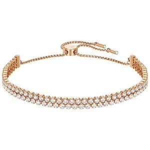 【送料無料】ネックレス スワロフスキーテニスオロオリジナルサドナブレスレットbracciale swarovski subtle tennis oro rosa originale donna bracelet 5224182