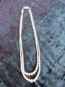 【送料無料】ネックレス クリップbelle, vieux perles pour collier __ avec 835 fermoir en argent __