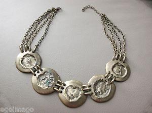 【送料無料】ネックレス ネックレスアーティストヴィンテージjoli collier de sculpteur bijoux dartiste vintage 1970