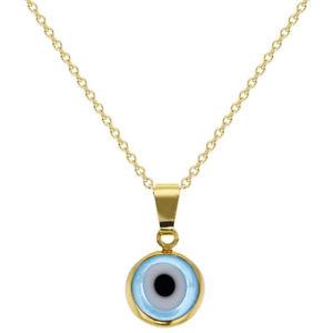 【送料無料】ネックレス ゴールドメッキネックレス18k plaqu or protection mauvais oeil collier amulette femmes 483cm