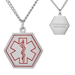 【送料無料】ネックレス ステンレスhaut artrielle acier inoxydable mdicale hexagone shape pendant,762cmcurb
