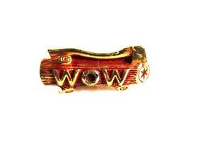 【送料無料】メンズアクセサリ― wow goldtoneタイ31816woodmen of the world wow goldtone tie clasp unbranded 31816
