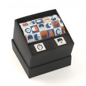 【送料無料】メンズアクセサリ― デニスネクタイカフスボタンセットthe beano dennis and gnasher silk tie and cufflinks boxed gift set