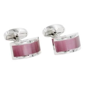 【送料無料】メンズアクセサリ― サファイアピンクカフリンクスボックスカフリンクスsapphire pink stone cufflinks 5 year  gift box included quality cuff links