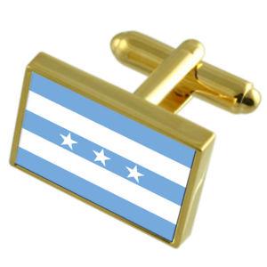 【送料無料】メンズアクセサリ― グアヤキルエクアドルゴールドフラッグカフスボタンボックスguayaquil city ecuador gold flag cufflinks engraved box
