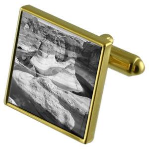 【送料無料】メンズアクセサリ― グランドキャニオンカフスボタンクリスタルタイクリップセットdesert grand canyon goldtone cufflinks crystal tie clip gift set