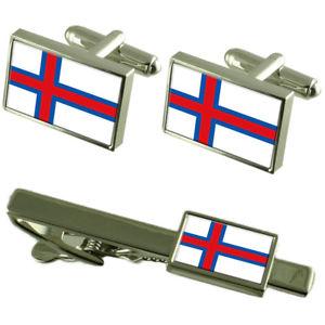 【送料無料】メンズアクセサリ― フラグカフスボタンタイクリップマッチングボックスセットthe far÷es flag cufflinks tie clip matching box gift set