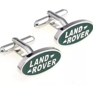 【送料無料】メンズアクセサリ― スマートランドローバーlogoカフスリンクボックスstylish land rover car logo luxury cufflinks gift box or pouch