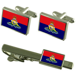 【送料無料】メンズアクセサリ― カフスボタンタイクリップボックスセットroyal artillery regiment military england flag cufflinks tie clip box gift set