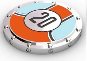 【送料無料】メンズアクセサリ― gtoロンドンレーシング20カフスリンクgto london racing livery 20 cufflinks