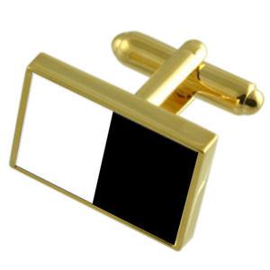 【送料無料】メンズアクセサリ― メッツフランスゴールドフラッグカフスボタンボックスmetz city france gold flag cufflinks engraved box
