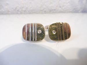 【送料無料】メンズアクセサリ― カフスボタン;beautiful, old cufflinks__925 silver__with small stones__k amp; l