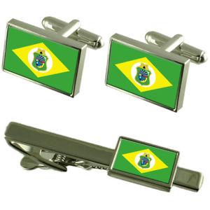 【送料無料】メンズアクセサリ― フラグカフスボタンタイクリップマッチングボックスセットcear flag cufflinks tie clip matching box gift set