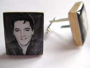 【送料無料】メンズアクセサリ― カフスボタンエルビスプレスリーエルビスプレスリーカフリンクスハンドメイドelvis cufflinks elvis presley gift elvis presley cufflinks handmade in the uk