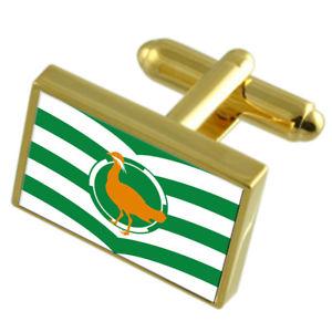【送料無料】メンズアクセサリ― ウィルトシャーゴールドフラグカフスリンクwiltshire county england gold flag cufflinks engraved box