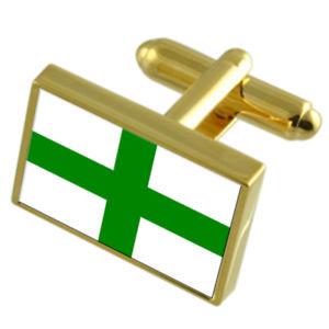 【送料無料】メンズアクセサリ― マルタゴールドフラッグカフスボタンボックスzejtun city malta gold flag cufflinks engraved box