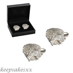 【送料無料】メンズアクセサリ― cufflinksスターリングfoundland dog 925ユニークcufflinks sterling silver foundland dog puppy 925 uk unique uk design