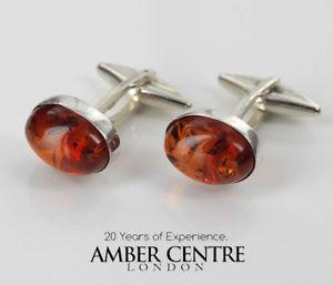 【送料無料】メンズアクセサリ― イタリア925カフスリンクバルトcf010 rrp90italian made classic 925 silver cufflinks genuine baltic amber cf010 rrp90