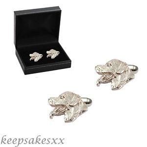 【送料無料】メンズアクセサリ― カフリンクススターリングシルバーユニークデザインcufflinks sterling silver rottweiler dog puppy 925 uk unique design