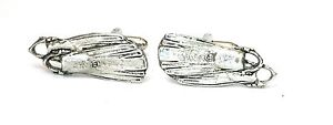 【送料無料】メンズアクセサリ― シロメカフスリンクquantity discountdiving flippers large pewter cufflinks gift boxed or pouched quantity discount