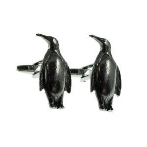 【送料無料】メンズアクセサリ― ペンギンピューターメンズカフスボタンカフリンクスenglish made penguin pewter mens cufflinks cuff links gift
