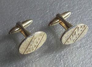 【送料無料】メンズアクセサリ― カフスリンクヴィンテージmensカフス1960goldtone cut retro spaceage modernistリンクcufflinks vintage mens cuff links 1960s goldtone cut retro