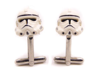 【送料無料】メンズアクセサリ― スターウォーズファンジェダイgenuine lego storm trooper cufflinksカフスリンクgenuine lego storm trooper cufflinks cuff link gift for star wars