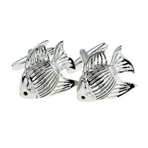 【送料無料】メンズアクセサリ― カフスリンクx2aj267tropical fish design cufflinks presented in a box x2aj267