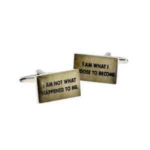 【送料無料】メンズアクセサリ― ボックス×カフリンクスi am not what happened to me i am what cufflinks in a box x2bocr136