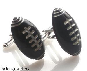 【送料無料】メンズアクセサリ― gorgeous handmade rugby american football cufflinksfreegift baggorgeous handmade rugby american football cufflinks free g