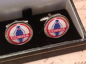 【送料無料】メンズアクセサリ― acコブラcufflinksin box collectable bnibcuff linksac cobra cufflinks silver in box collectable bnib cuff links