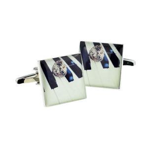 【送料無料】メンズアクセサリ― ボックス×ピアノキーカフリンクスartistic piano keys cufflinks in a cufflink box x2bocs348