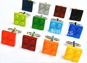 【送料無料】メンズアクセサリ― レゴプレートボックスメンズウェディングセットlego plate cufflink amp; gift box set mens wedding groom gift unique present
