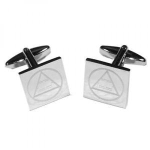 【送料無料】メンズアクセサリ― タウカフスボタン×masonic tau engraved cufflinks x2boem011