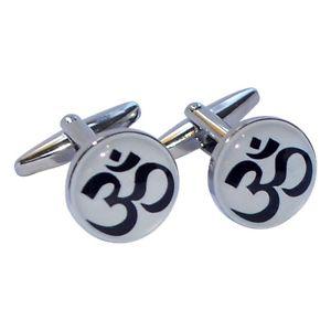 【送料無料】メンズアクセサリ― ×シンボルラウンドカフリンクスom mystical symbol round cufflinks presented in a box x2boc186