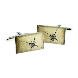 Real Moving Cog Cufflinks in Gift Box steampunk retro hipster cogs NC005 NEW