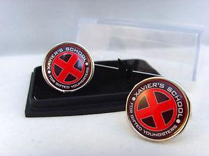 【送料無料】メンズアクセサリ― ザビエルメンズカフスボタンカフリンクスx men xmen xaviers school red mens cufflinks cuff links gift